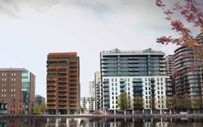 Network Homes works with F3GROUP Ltd to deliver new affordable homes in Canary Wharf